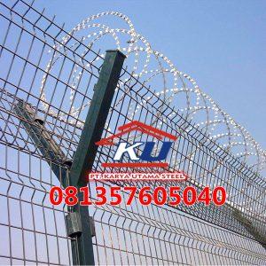 Harga Pagar Bandara V Mesh Galvanis Hotdeep Ready Stock Surabaya